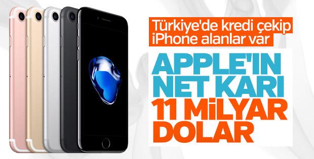 Apple gelirlerini artırdı