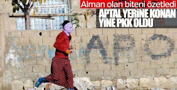 Alman basını: PKK'lılar yine aptal yerine kondu