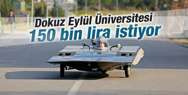Güneş arabası Solaris satışa çıktı