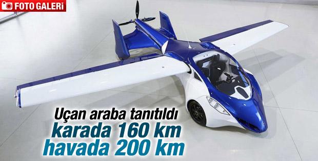 Avusturya'da uçan araba tanıtıldı İZLE