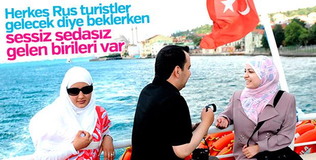 Arap turistlerin tercihi Türkiye olacak