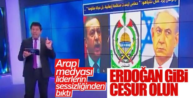 Arap spiker liderleri Erdoğan'ı örnek gösterdi