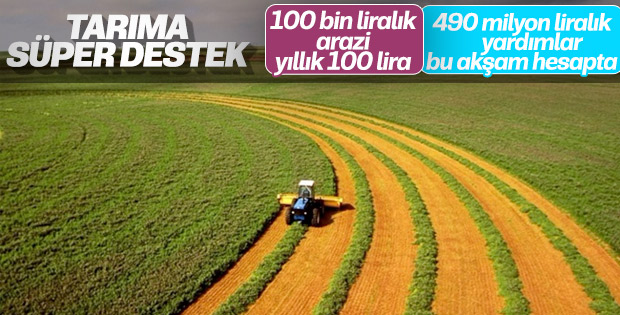 Bakan Pakdemirli'den çiftçilere destek müjdesi