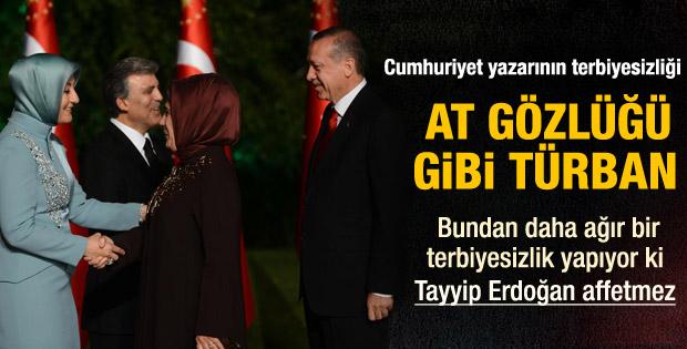 Arcayürek'ten Emine Erdoğan'a ve Hayrunnisa Gül'e hakaret