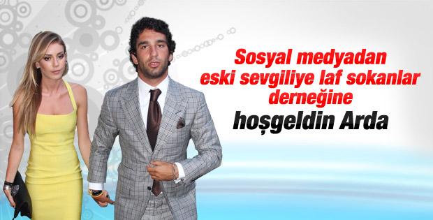 Arda Turan'dan Sinem Kobal'a gönderme
