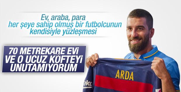 Arda Turan'dan duygusal mesaj