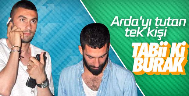 Burak Yılmaz'dan Arda Turan'a destek açıklaması