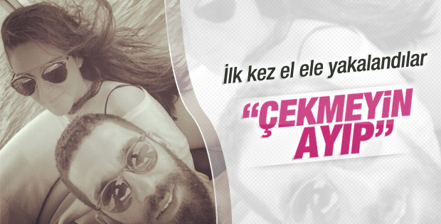 Arda Turan Aslıhan Doğan'la el ele görüntülendi