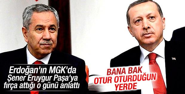 Bülent Arınç'ın Cumhurbaşkanı Erdoğan ile ilginç anısı