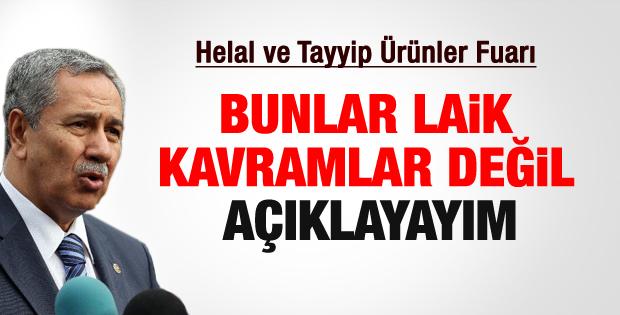 Bülent Arınç'tan helal ve tayyip kelimeleri için açıklama