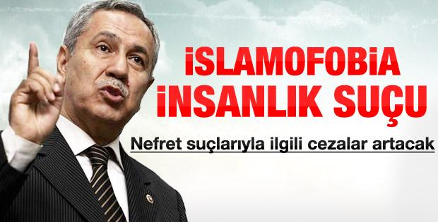 Arınç'ın Uluslararası İslamofobi Konferansı konuşması - izle