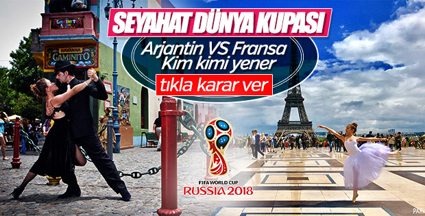 Seyahat kupası: Arjantin vs Fransa