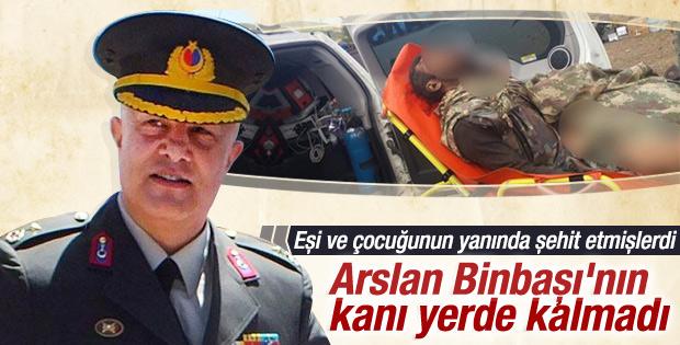 Binbaşıyı şehit eden teröristlerden biri öldürüldü