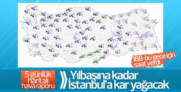 Türkiye genelinde soğuk hava etkisini arttıracak