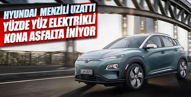 Hyundai'den uzun menzilli elektrikli yeni model