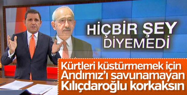 Fatih Portakal'dan Kılıçdaroğlu'na: Cesaretsizsin