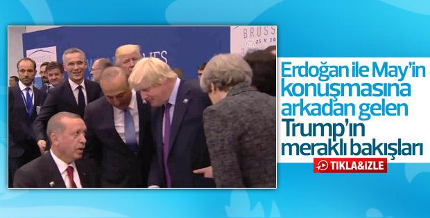 Trump'ın Cumuhurbaşkanı Erdoğan ve May'e bakışı