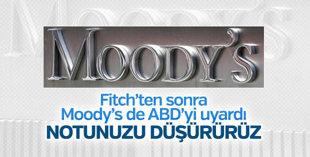 Moody's'ten ABD'ye borç uyarısı