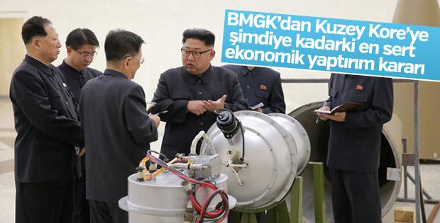 BMGK'dan Kuzey Kore'ye yaptırım