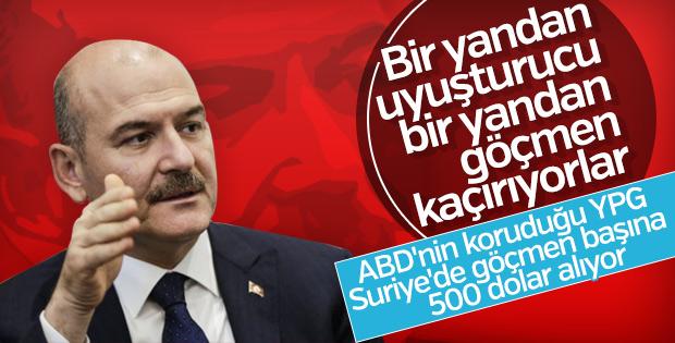 Bakan Soylu: YPG ve DEAŞ iş birliği yapıyor