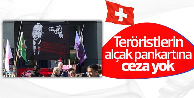 İsviçre'deki pankartla ilgili ilk karar