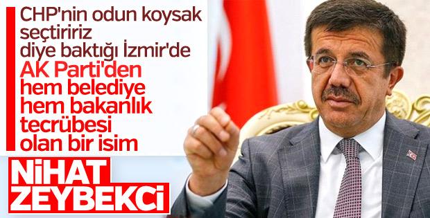 AK Parti'nin İzmir adayı Nihat Zeybekci