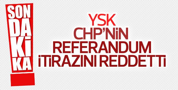 YSK CHP'nin itirazını iptal etti