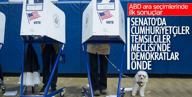 ABD Kongre ara seçimlerinde sonuçlar
