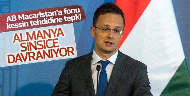 Macaristan'dan Almanya'ya fon tepkisi
