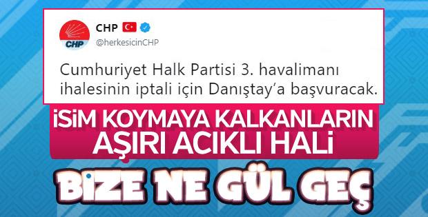 CHP'ye rağmen 3. Havalimanı'nda mutlu son