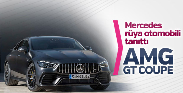 Mercedes rüya otomobili tanıttı: AMG GT Coupe