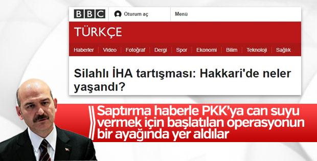 Süleyman Soylu'dan BBC'ye tepki