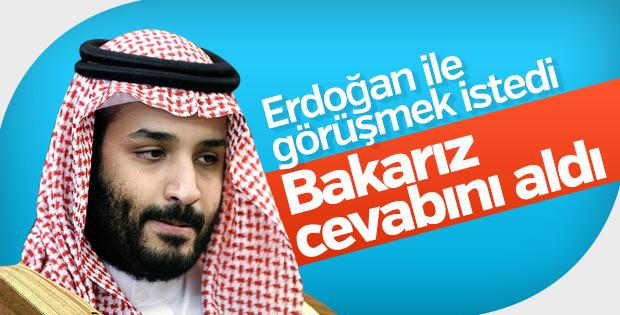 Prens Selman, Başkan Erdoğan ile görüşmek istedi