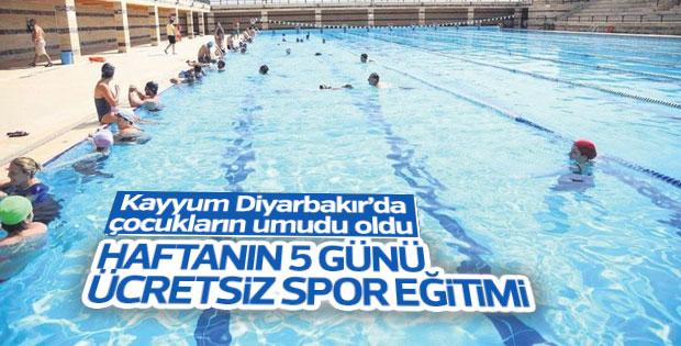 Diyarbakır'da yaz spor okulları faaliyette