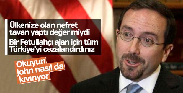 ABD Büyükelçisi Bass'tan açıklama