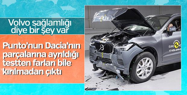 En güvenli otomobil testlerine Volvo damgası