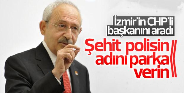 Kılıçdaroğlu'dan şehit polis için talimat