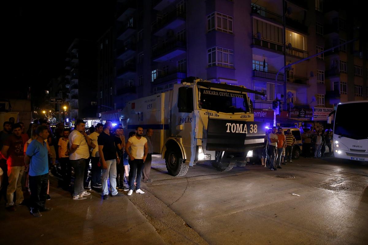 Ankara'da Suriyeli sığınmacılarla Türk vatandaşları arasında kavga