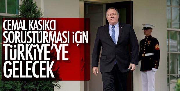 Pompeo Türkiye'ye gelecek