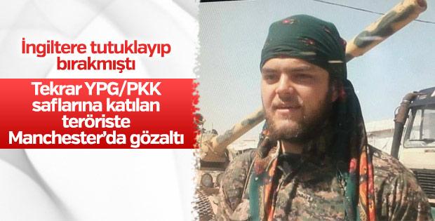 İngiltere'de PYD/PKK'lı terörist gözaltına alındı