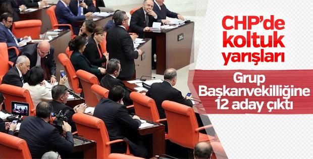 CHP'de Grup Başkanvekilliği için 12 isim