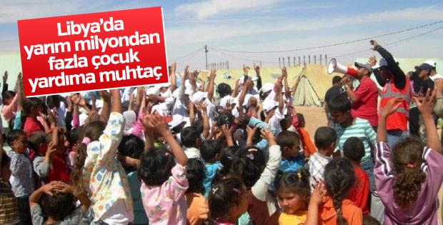 UNICEF'ten Libya'daki çocuklara yardım çağrısı