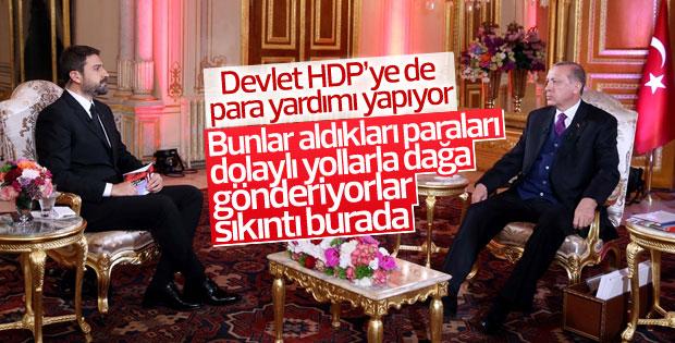 Cumhurbaşkanı Erdoğan TRT canlı yayınında konuştu