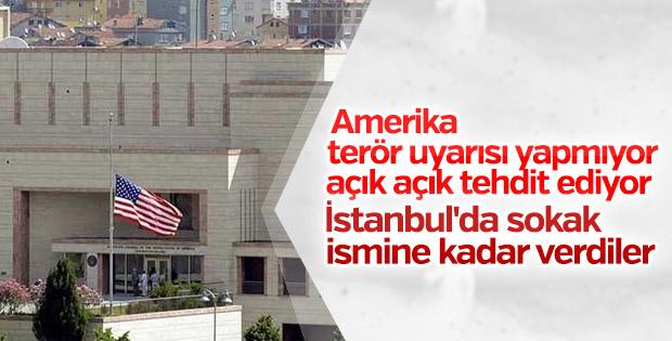 ABD İstanbul'da 'terör uyarısı' yaptı