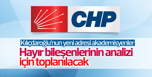 CHP'de akademisyenlerle referandum değerlendirmesi