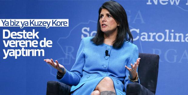 ABD'den Kuzey Kore'ye destek veren ülkelere yaptırım