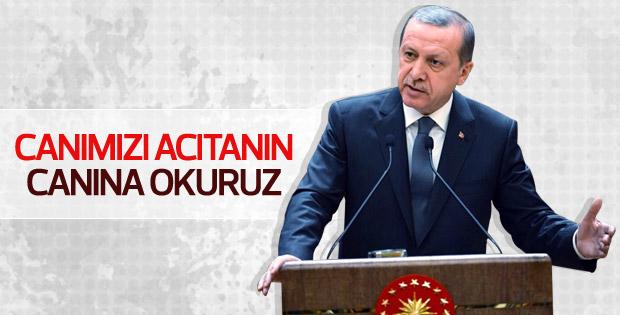 Erdoğan: Cudi'de Kandil'de yakalar vururuz