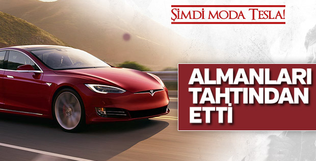 Tesla, Alman devlerini tahtından etti