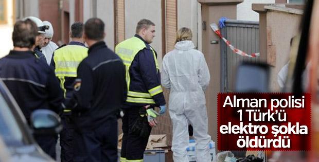 Almanya'da polis şiddeti: 1 Türk hayatını kaybetti