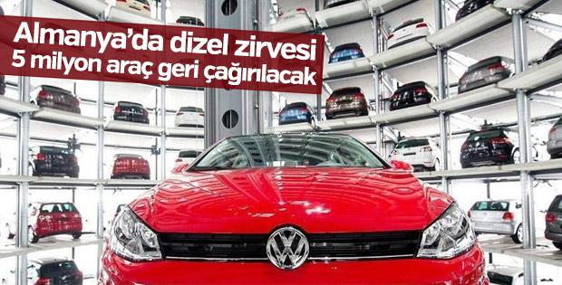 Almanya'da 5 milyon araç geri çağırılıyor